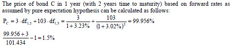 calculate-the-holding-period-return-of-a-bond-using-calculated-bond-price-based-on-the-forward-rates-in-one-year-2