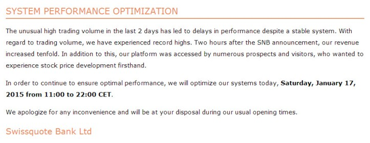 swissquote-system-optimisation